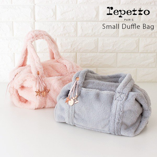 967d091c6bfb バッグ レペット repetto Synthetic Fur ファー バッグ Small Glide Duffle bag B0231SFの画像