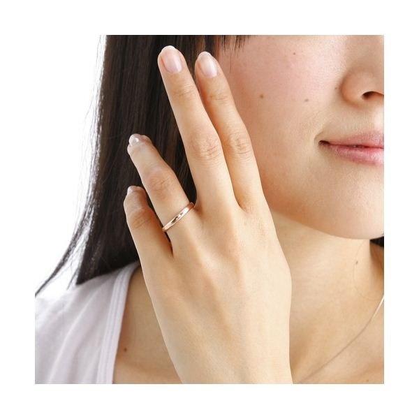 PGピンクダイヤリング 指輪 サザンクロスリング 7号