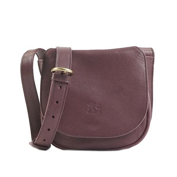 IL Bisonte(イルビゾンテ)ナナメガケバッグ A2750 885 PLUM