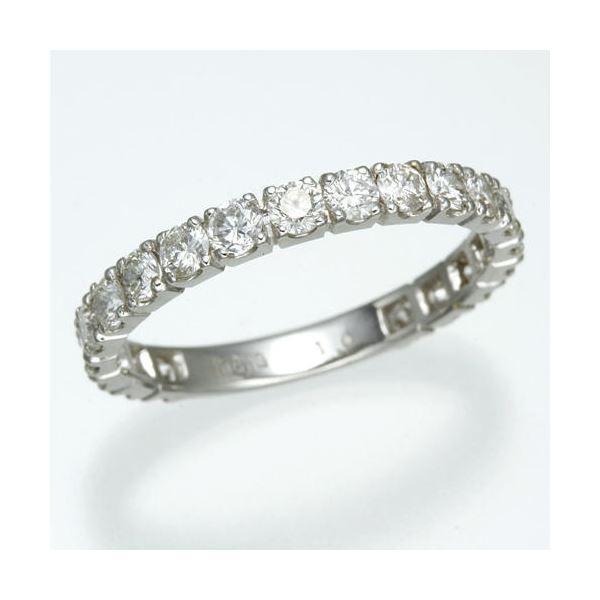 プラチナPt900 1.0ctダイヤリング 指輪 エタニティリング 17号