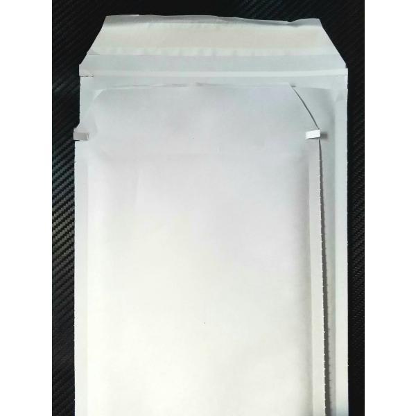送料無料 クッション封筒 まもるくん M4 ミナパック プチプチ テープ付き 白紙 230mm×340mm 100枚入 A4 書類 本 雑誌 DVD  メーカー直送 商品代引不可|pack8983|03