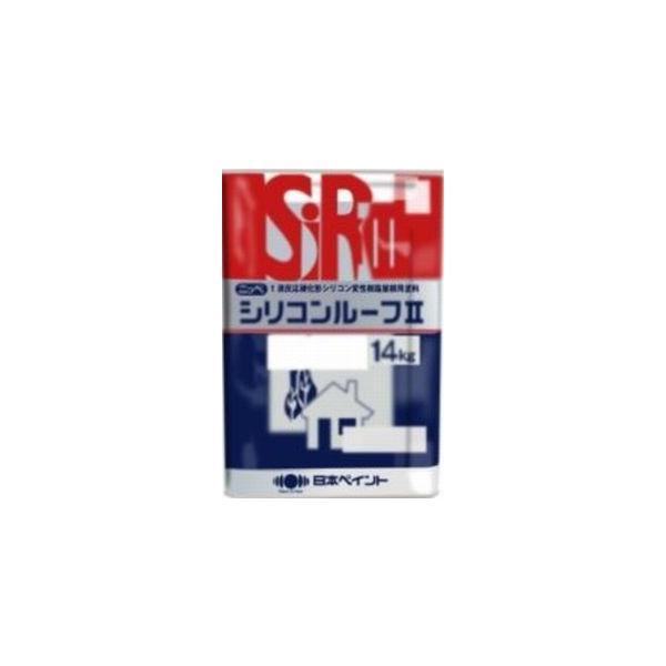 ニッペ シリコンルーフII 各色 14Kg缶/1液 油性 シリコン 屋根 日本ペイント|paint-lucky