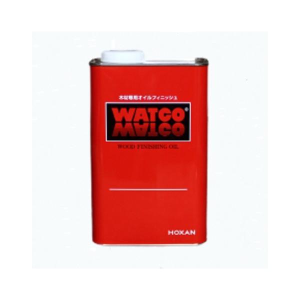 ワトコオイル カラーオイル ミディアムウォルナット W-12 木材専用オイルフィニッシュ 1L【WATCO】|paintandtool