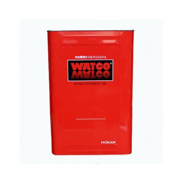 ワトコオイル カラーオイル ミディアムウォルナット W-12 木材専用オイルフィニッシュ 16L【WATCO】 paintandtool