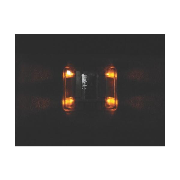 キャットアイ ルミナスアイ・マイティ ソーラー式常灯  両面 黄(LE2602A)|paintandtool|03