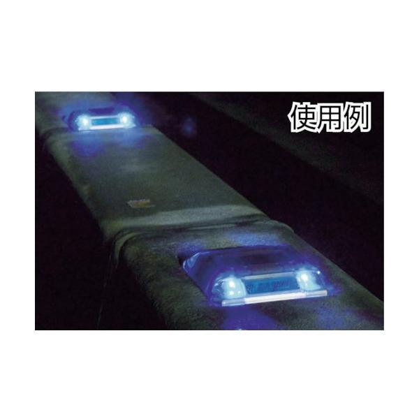 キャットアイ ルミナスアイ・マイティ ソーラー式常灯  両面 青(LE2602B) paintandtool 04