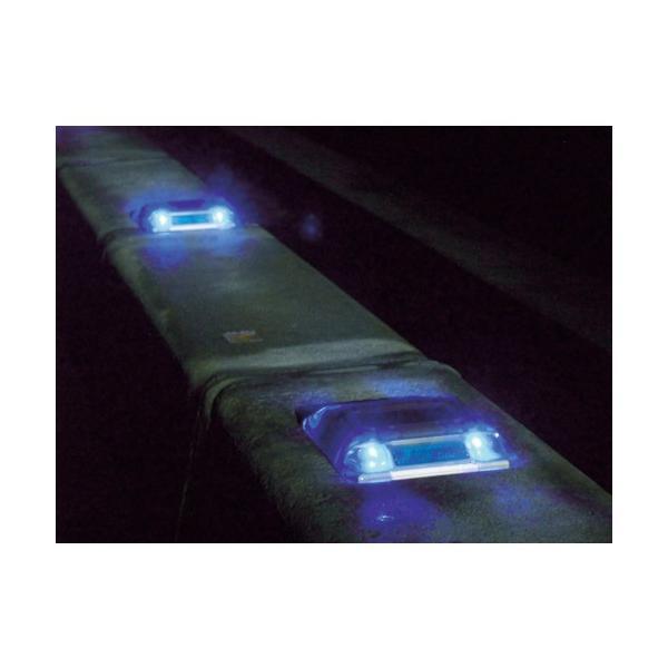 キャットアイ ルミナスアイ・マイティ ソーラー式常灯  両面 青(LE2602B) paintandtool 05