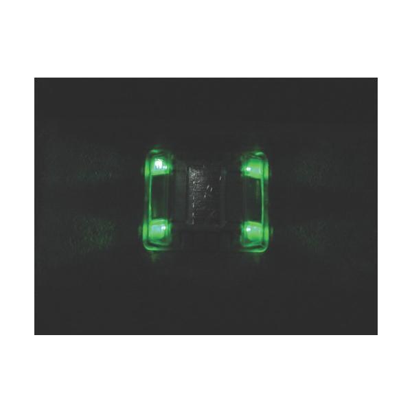 キャットアイ ルミナスアイ・マイティ ソーラー式常灯  両面 緑(LE2602G)|paintandtool|03