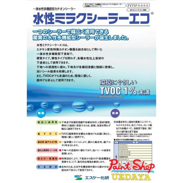 水性ミラクシーラーエコ15K1缶≪エスケー化研≫