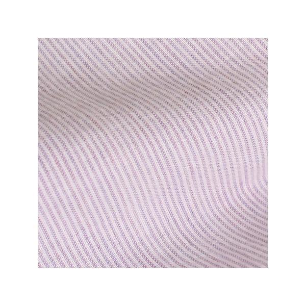 パジャマ メンズ 夏 半袖 綿 オーガニックコットン 横段ボーダー柄 先染め ガーゼ織り 紳士パジャマ 半開き、ボタン留め 日本製 父の日 ギフト 0501|pajamakobo-lovely|05