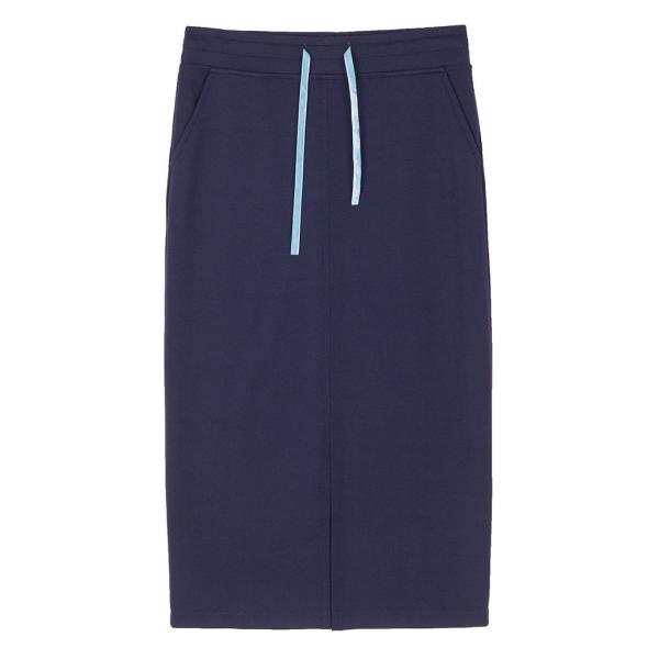 スカート レディース 春 ミモレ丈 ネイビー KLING クリング|pajamas|04