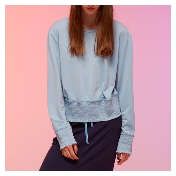 カットソーレディース 春 ブルー 水色 KLING クリング|pajamas