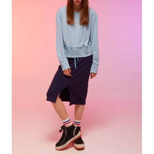 カットソーレディース 春 ブルー 水色 KLING クリング|pajamas|03