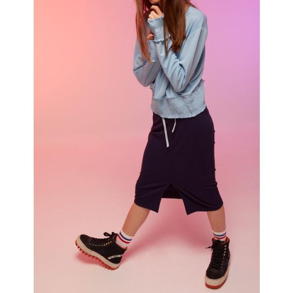 カットソーレディース 春 ブルー 水色 KLING クリング|pajamas|04
