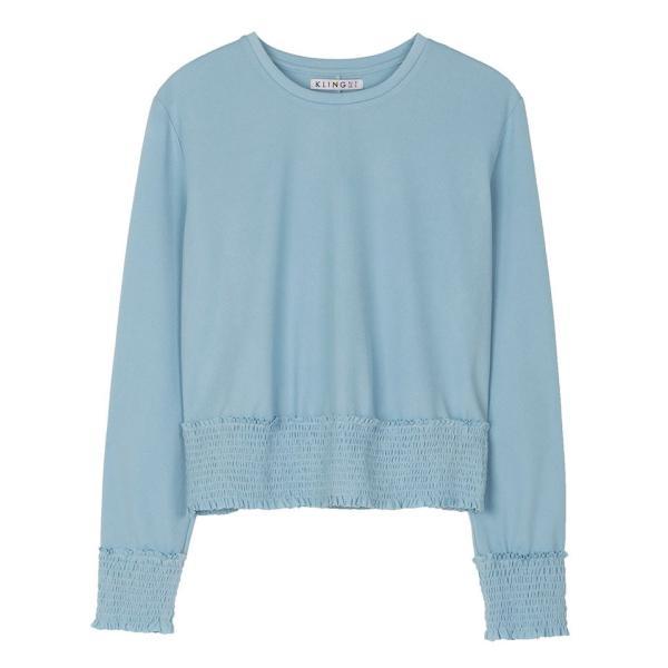 カットソーレディース 春 ブルー 水色 KLING クリング|pajamas|05