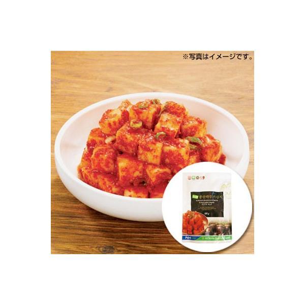 [冷蔵]『韓国農協』カクテキ|大根サイコロキムチ(500g) 大根キムチ 韓国キムチ 韓国おかず 韓国料理 韓国食材 韓国食品