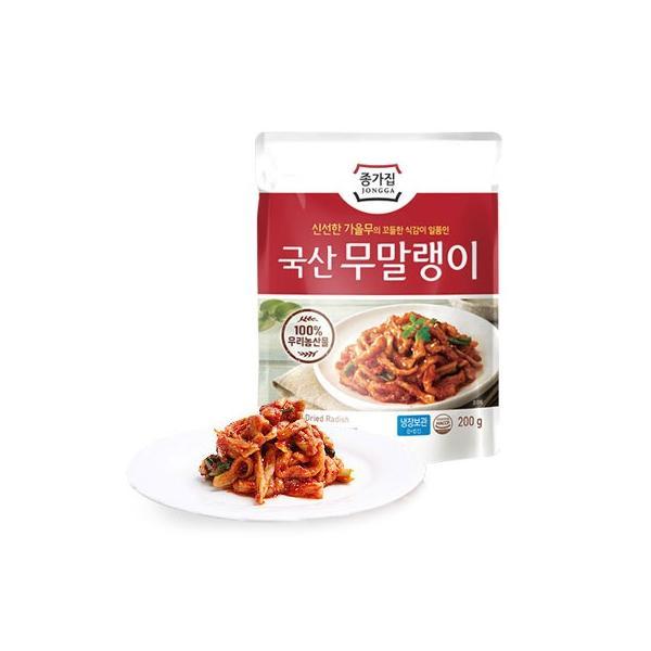 [冷蔵]『宗家』ムマルレンイ|切干大根キムチ(200g) チョンガ 韓国キムチ 韓国おかず 韓国料理 韓国食材 韓国食品