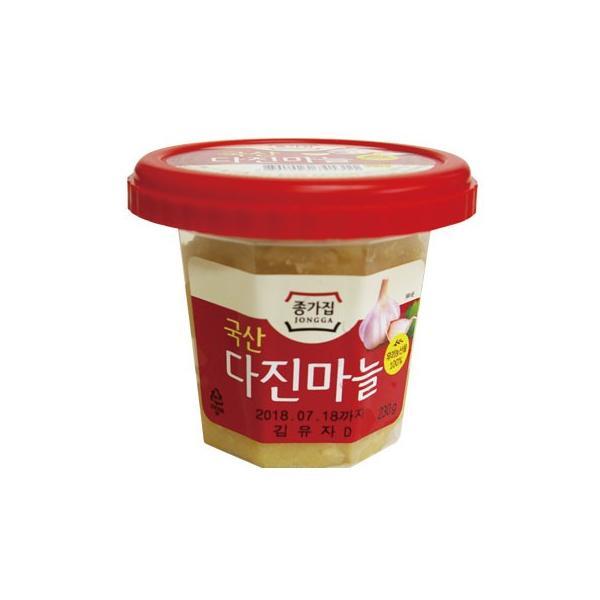 [冷蔵]『宗家』おろしにんにく(230g)■韓国産 チョンガ 韓国調味料 にんにく 生ニンニク すりニンニク 韓国食材 韓国料理 韓国食品