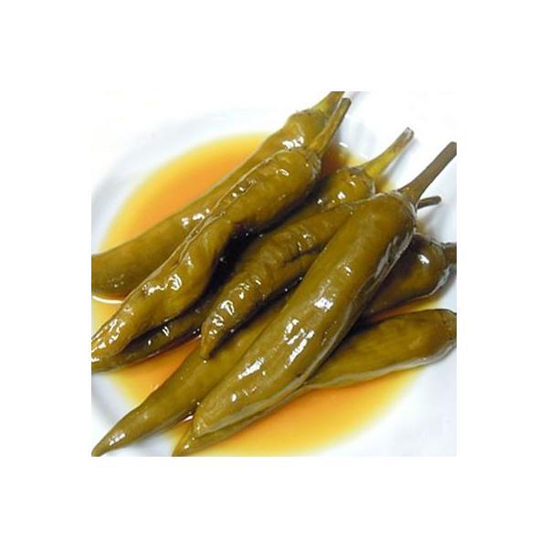 [冷蔵]『自家製』醤油漬け唐辛子キムチ・辛口(250)おかず 惣菜 韓国おかず 韓国キムチ