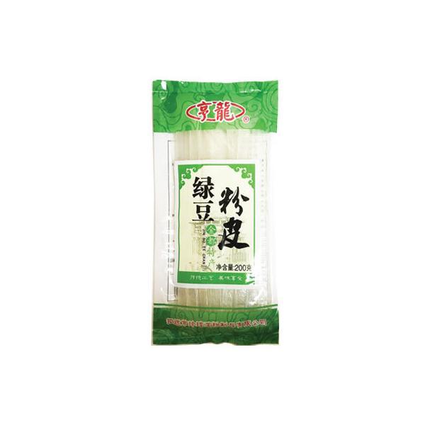 『享龍』緑豆粉皮|板春雨(200g)  板はるさめ 乾物 中国春雨 中国麺 中国食材 中国料理 中国食品