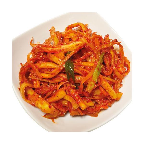 [冷凍]生キキョウの根和え(300g) トラジムチム トラジキムチ キキョウキムチ 漬物 惣菜 韓国おかず 韓国キムチ 韓国料理 韓国食材 韓国食品