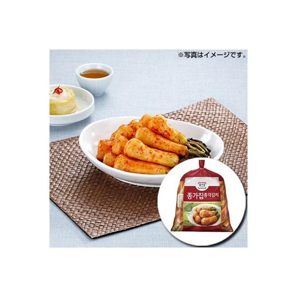 [冷蔵]『宗家』チョンガクキムチ|大根キムチ(5kg) チョンガ 韓国キムチ 韓国おかず 韓国料理 韓国食材 韓国食品