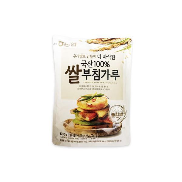 『韓国農協』お米チヂミ粉(500g) グルテンフリー 米の粉 韓国料理 韓国食材 韓国食品