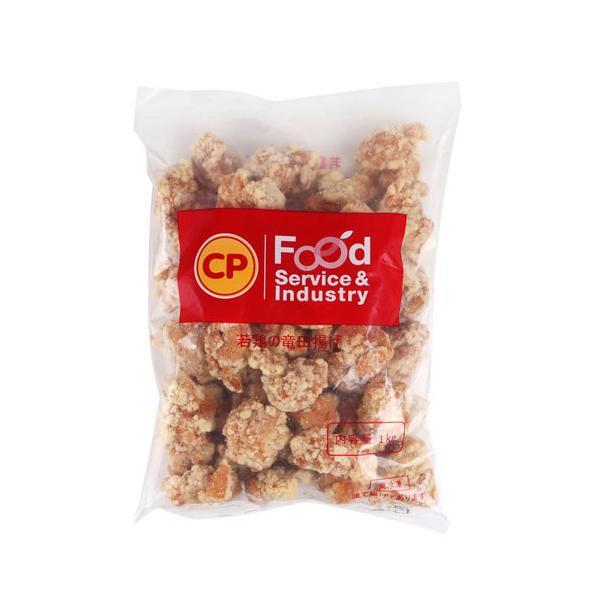 [冷凍] 鶏竜田揚げ(醤油味・約1kg) 鶏肉 唐揚げ から揚げ ケンタッキー チキン 加工食品