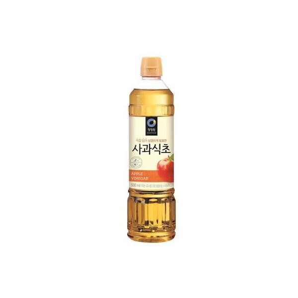『清浄園』りんご酢|リンゴ酢(900ml) チョンジョンウォン 韓国調味料 韓国食材 韓国料理 韓国食品