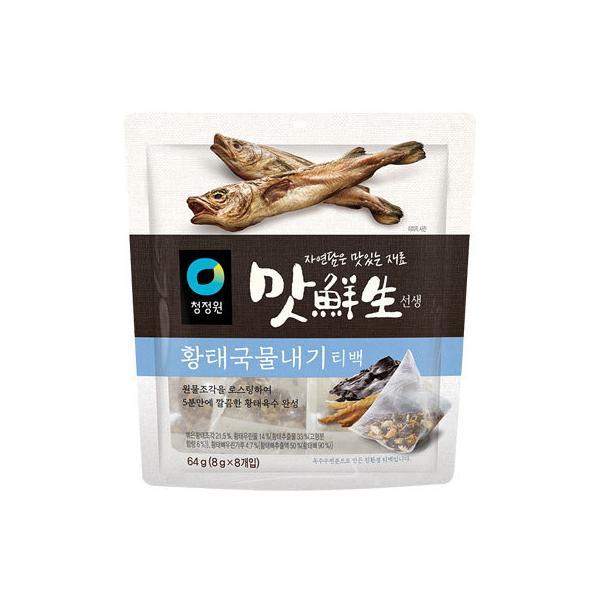 『清浄園』マッ鮮生万能海鮮だしパック(8g×8パック入) 海鮮だし汁 だし汁 韓国調味料 韓国料理 韓国食材 韓国食品 オススメ