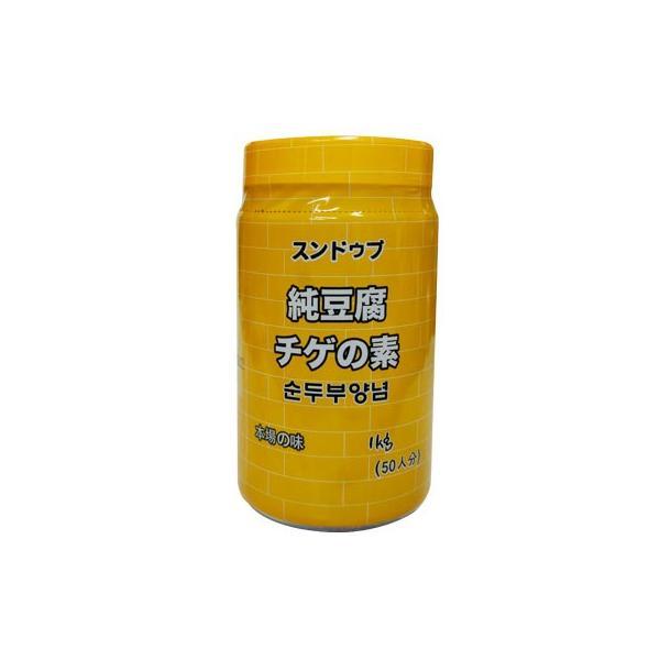『韓国調味料』業務用スンドゥブチゲソース 純豆腐チゲの素(1kg) 業務用 ソース たれ 鍋料理 チゲ鍋