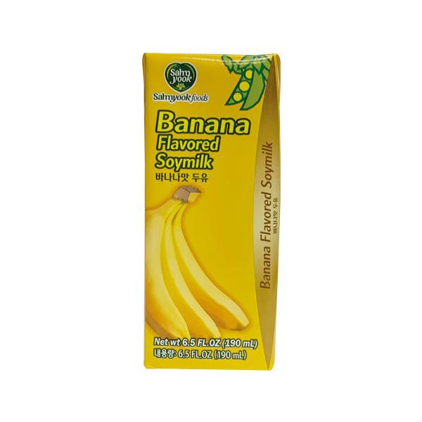 バナナ味の豆乳