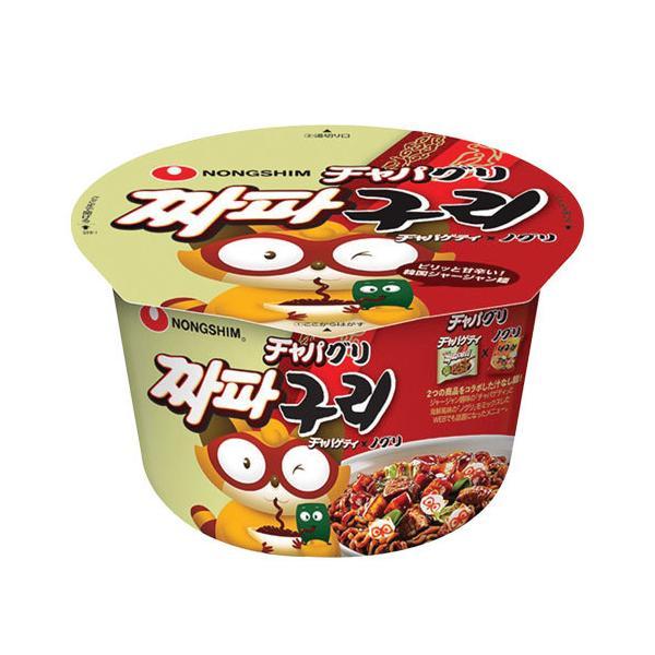 【数量限定★訳ありSALE】『農心』チャパグリカップ麺(大・114g×1個) 韓国ラーメン インスタントラーメン カップ麺