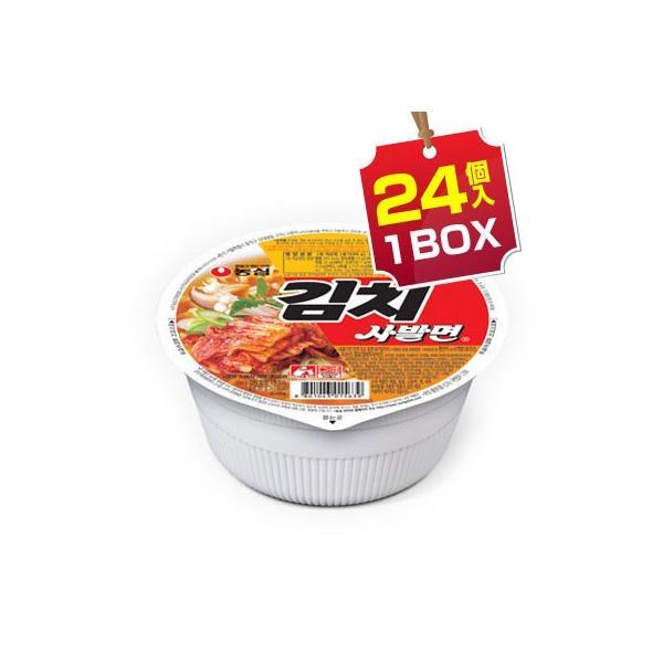 まとめ買いがお得 1個当り151円 『農心』キムチカップ麺(1BOX=86g×24個入)カップラーメンノンシム韓国ラーメンイン