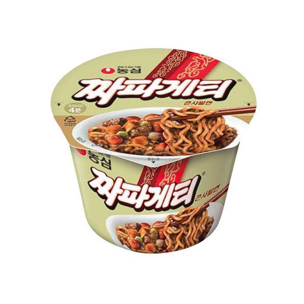 『農心』チャパゲティ カップ 麺(大・123g×1個) カップラーメン ジャージャー麺 韓国ラーメン インスタントラーメン ジャジャン麺 韓国食品