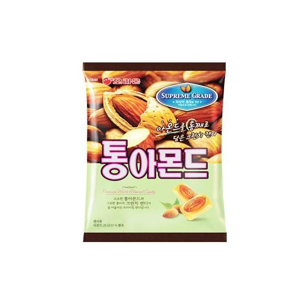 『オリオン』丸ごとアーモンド飴 アーモンド丸ごと入り飴(90g)韓国お菓子 韓国食品
