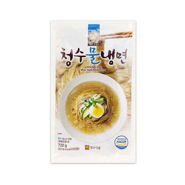 『清水』冷麺|乾麺+液状スープ入り(720g・約4人前) 韓国冷麺 韓国料理 韓国食品