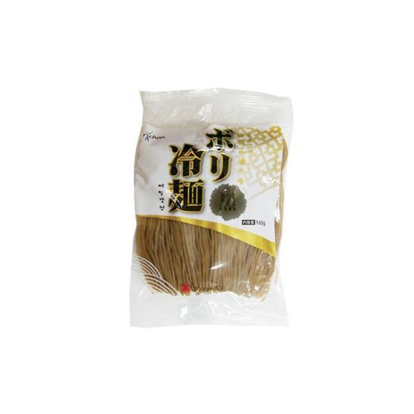 『ボリ村』ボリ冷麺|黒麺(160g) 韓国麺 韓国料理 韓国食材