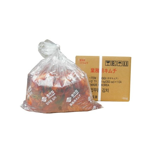 【訳あり★数量限定★お得価格】[冷蔵]『宗家』白菜キムチ(業務用・10kg) 韓国キムチ 韓国食材 韓国食品