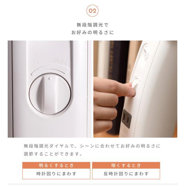 デスクライト デスクスタンドライト LED 照明 おしゃれ 目に優しい クランプ スタンドライト 卓上|palette-life|08