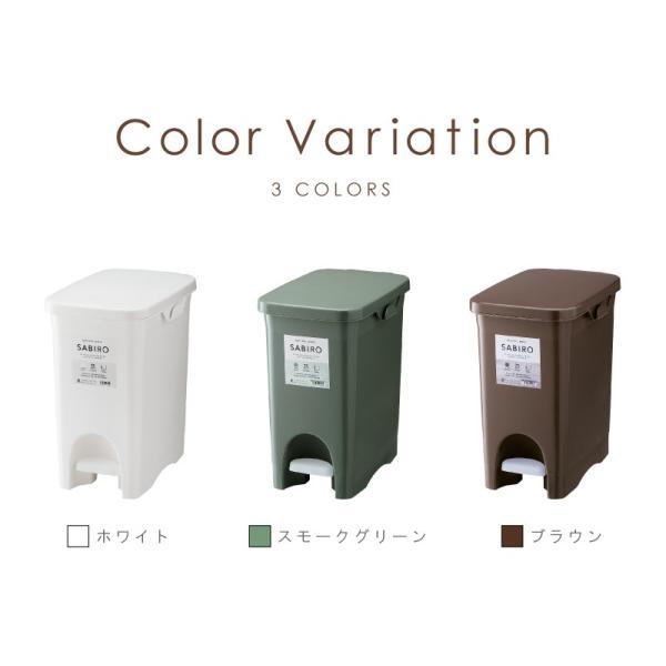ゴミ箱 おしゃれ キッチン 分別 フタ付き ダストボックス 22リットル ペダル式|palette-life|04