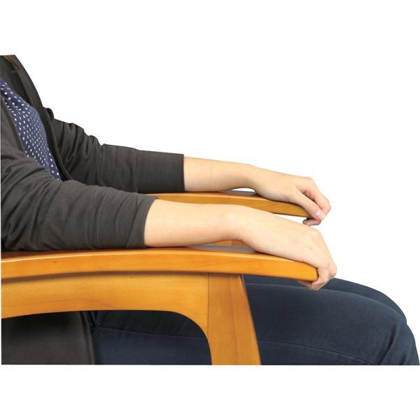 座椅子 高座椅子 フロアチェア 1人掛け リクライニング レバー式 高さ調節|palette-life|03
