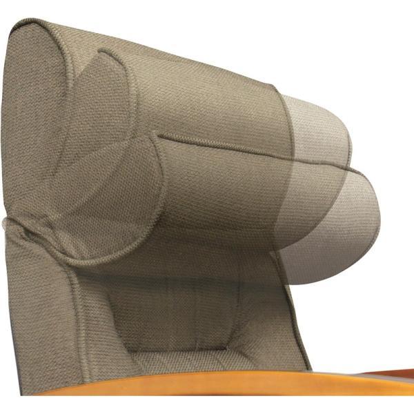 座椅子 高座椅子 フロアチェア 1人掛け リクライニング レバー式 高さ調節|palette-life|04