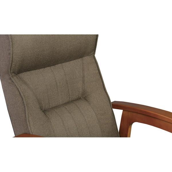 座椅子 高座椅子 フロアチェア 1人掛け リクライニング レバー式 高さ調節|palette-life|05