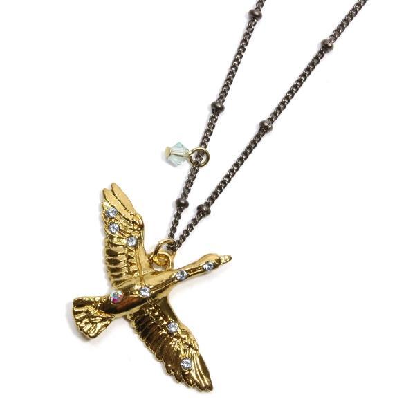 ロングネックレス ネックレス レディース  PalnartPoc パルナートポック 公式 ブラフシューペリア プレゼント   白鳥座GD(ゴールドカラー)ネックレス|palnartpocstore
