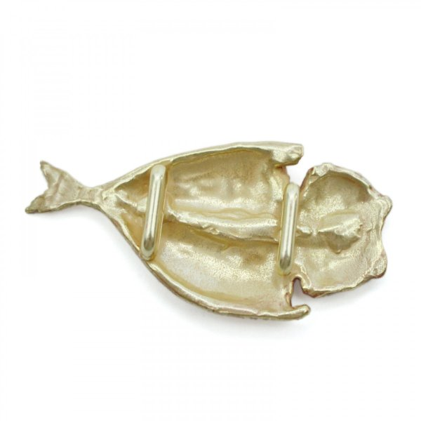 おしゃれな帯留め 魚 焼き魚 アジ 帯留め PalnartPoc直営 アクセサリー 可愛い ブランドパルナートポック直営店  アジ帯留め|palnartpocstore|02