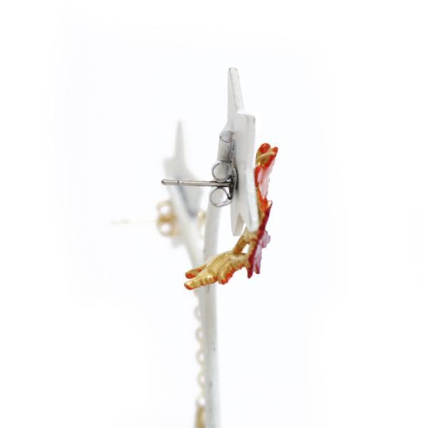 もみじ 紅葉 ピアス レディース サージカルステンレス PalnartPoc ブランド パルナートポック直営 プレゼント もみじピアス|palnartpocstore|06