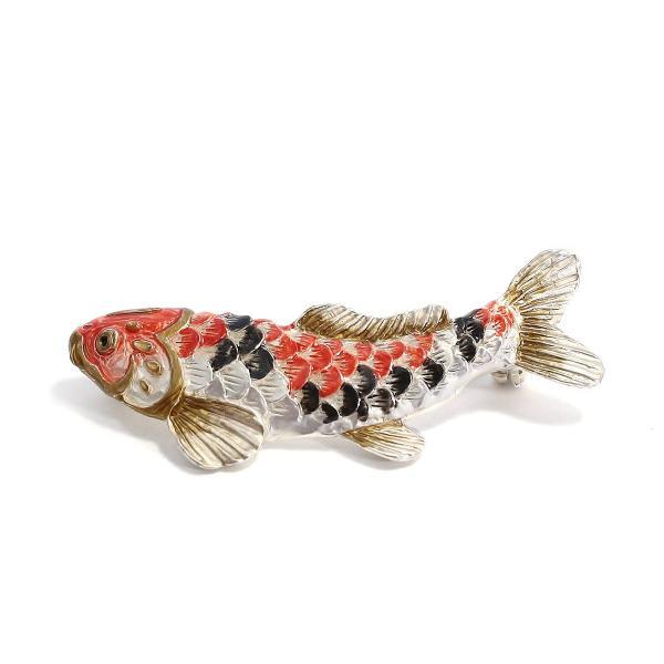 こいのぼり ブローチ おしゃれ 鯉 ユニーク ブローチ レディース PalnartPoc ブランド パルナートポック直営 プレゼント 鯉のぼりブローチ|palnartpocstore