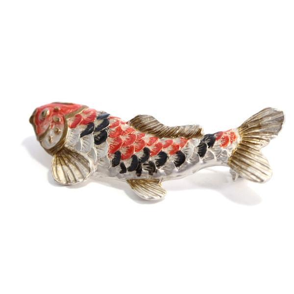 こいのぼり ブローチ おしゃれ 鯉 ユニーク ブローチ レディース PalnartPoc ブランド パルナートポック直営 プレゼント 鯉のぼりブローチ|palnartpocstore|02
