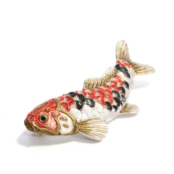 こいのぼり ブローチ おしゃれ 鯉 ユニーク ブローチ レディース PalnartPoc ブランド パルナートポック直営 プレゼント 鯉のぼりブローチ|palnartpocstore|03